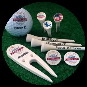 Golfvarusteet edullisesti painatettuna